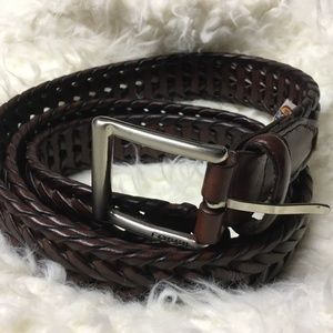 Men's Fossil Braided Belt